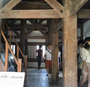 明石城 櫓特別公開① (1)